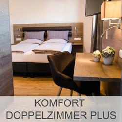 Kellerhaus Oberalfingen - Unsere Zimmer - Komfort Doppelzimmer Plus