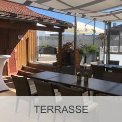 Kellerhaus Oberalfingen - Räumlichkeiten - Terrasse