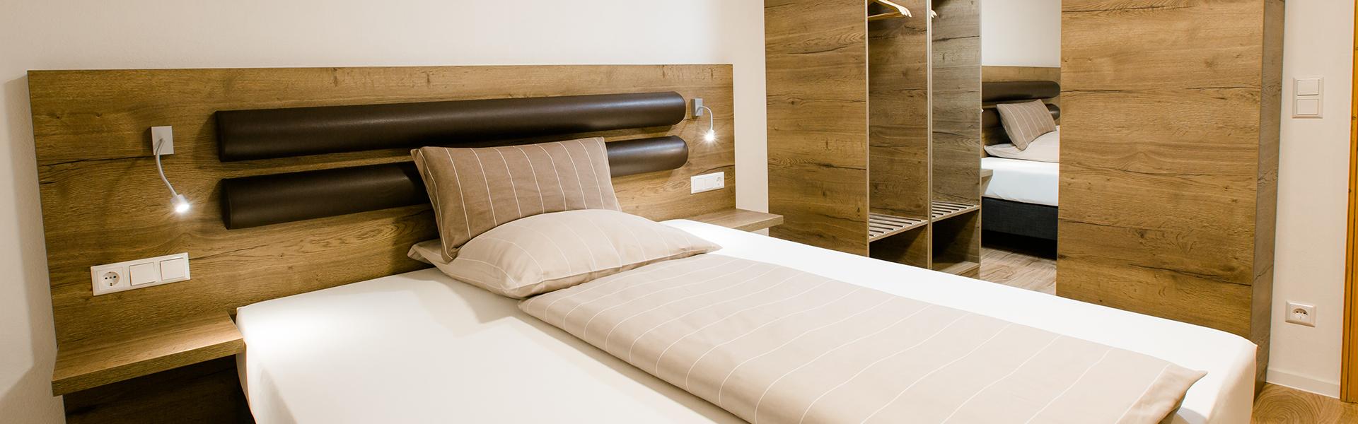 Kellerhaus Oberalfingen - Unsere Zimmer - Nur zum Übernachten viel zu schade